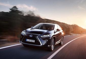 Lexus RX: binnenkort ook als zevenzitter #1