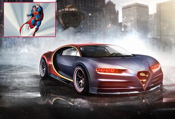 Superhelden en hun supercars #1