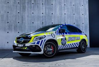 Lexus RC F en Mercedes-AMG GLE Coupé 63 S voor de Australische politie #1