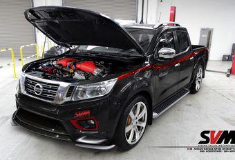 Nissan Navara avec V6 de GT-R #1