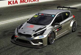 Kia bouwt TCR-racer op basis van de Cee'd #1