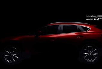 Mazda CX-4 : 2e teaser et détails #1