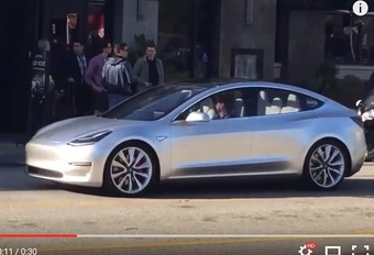 Tesla Model 3 : surprise en balade #1