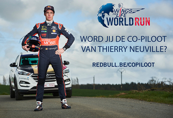 Word co-piloot van Thierry Neuville in Wings for Life World Run #1