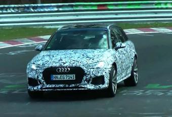VIDÉO - Audi RS4 : en test au Nürburgring #1