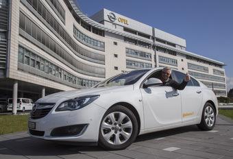 Opel Insignia met één tank 2.111 kilometer ver #1
