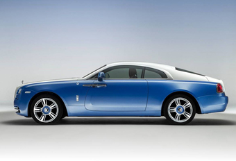 Rolls-Royce Wraith Nautica in maritieme sfeer #1