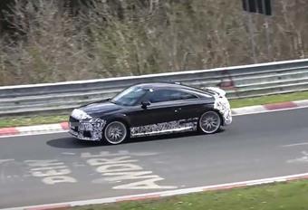 VIDÉO – Future Audi TT RS : déjà dans le rail ! #1