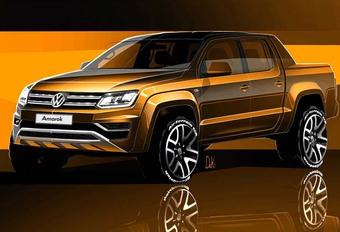 Volkswagen Amarok : restylage en vue #1