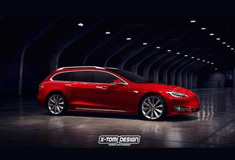 Ziet Tesla heil in een breakversie van de Model S? #1