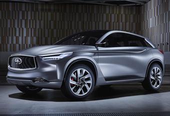 Gedurfde Infiniti QX Sport Inspiration gaat nieuwe SUV vooraf #1