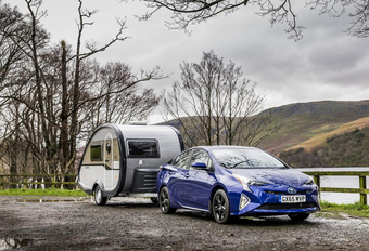 Nieuwe Toyota Prius mag trailer trekken #1