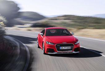Audi TT RS : puissance en coupé et en cabriolet #1