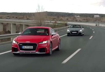 Audi TT RS : alléchante, aussi pour les oreilles ! #1