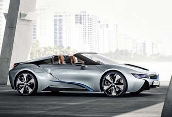 BMW i8 : plus de puissance et d'autonomie en 2017 #1
