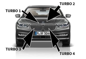 BMW draait vier turbo's op dieselmotor #1