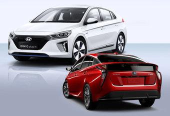 Hoe de Hyundai Ioniq de nieuwe Toyota Prius wil worden #1