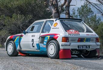 Waanzinnige Peugeot 205 T16 is waanzinnig duur #1