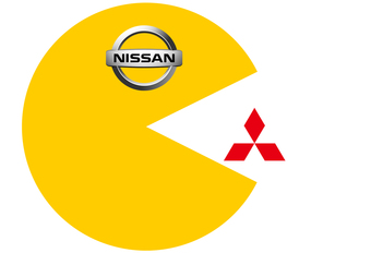 Nissan eet Mitsubishi op #1