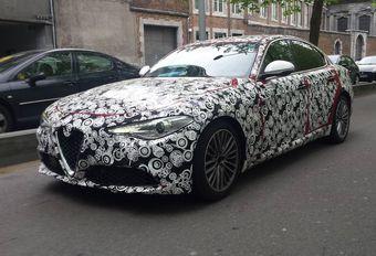 Alfa Romeo Giulia: gespot in Luik en meer details #1