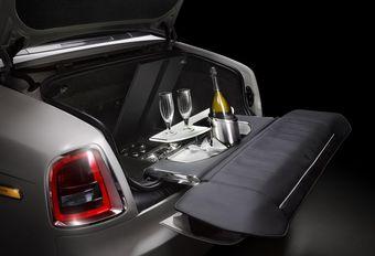 Bar à champagne dans les Rolls-Royce Phantom Zenith #1
