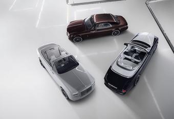 Rolls-Royce Phantom Coupé en Drophead Coupé nemen afscheid met Zenith Collection #1