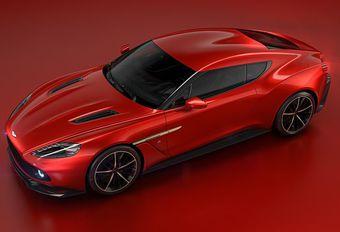 Aston Martin Vanquish Zagato in Villa d'Este #1