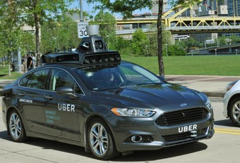 Uber teste sa voiture autonome #1