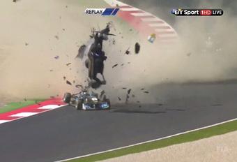 Gruwelcrash in Formule 3-race Spielberg – de video #1