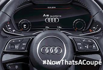 Audi A5 : voilà l'intérieur ! #1