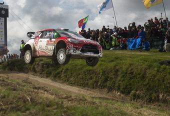 Kris Meeke 'vliegt' naar overwinning in rally van Portugal #1