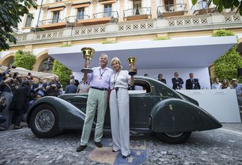 Villa d'Este: Coppa d'Oro voor een Lancia Astura #1