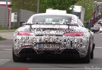 Mercedes-AMG GT-R : voilà le son de son V8 ! - UPDATE #1