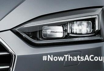 Teasers animés de l'Audi A5 #1