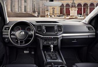 Volkswagen Amarok : son intérieur se refait une beauté   #1