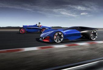 Peugeot L500 R HYbrid: virtuele conceptcar #1