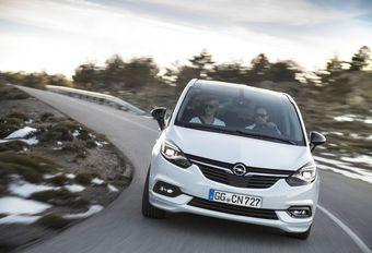 Opel Zafira : facelift et connectivité #1
