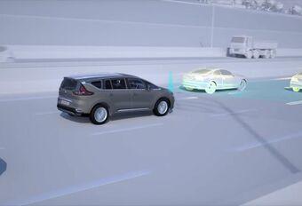 Renault présente sa conduite autonome #1