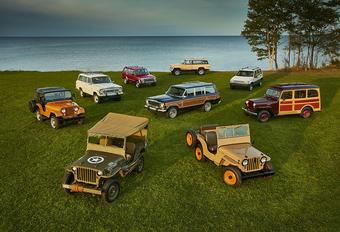 Jeep viert 75ste verjaardag in Autoworld Brussels #1