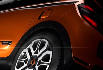 Renault teaset een gespierde Twingo #1