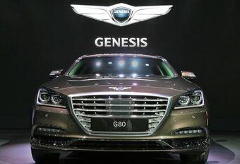 La Hyundai Genesis devient Genesis G80 à Busan #1