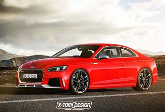 Future Audi RS5 : comme ça ? #1