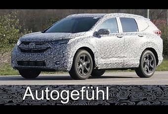 Honda CR-V : une cinquième génération en 2018 #1