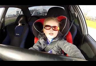 INSOLITE – À 3 ans au volant d'une Mitsubishi Evo VI de 320 ch #1