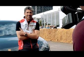 Porsche Panamera : elle roule avec Patrick Dempsey #1
