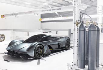 AM RB-001: de hypercar van Aston Martin en Red Bull #1