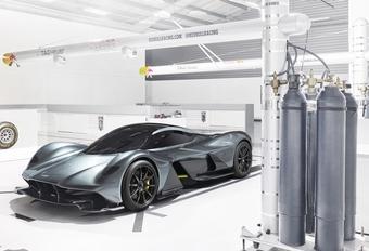 AM RB-001: de hypercar van Aston Martin en Red Bull #1