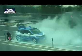 BMW i3 gaat in vlammen op in Rome #1