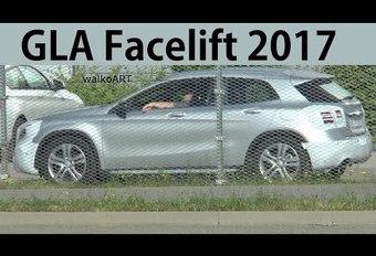 Toekomstige Mercedes GLA: gespot in Duitsland  #1