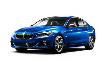 Officieel debuut voor de BMW 1 Reeks Sedan #1